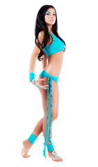 dancer with bodyart
