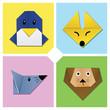 Origami Animal Head 2