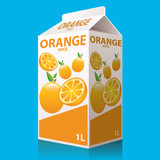 Bottle of Orange Juice
