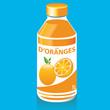 Bouteille de Jus d'Oranges