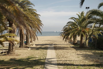 way from the city to the sea, San Benedetto del Tronto