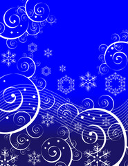Swirls and Snowflakes
