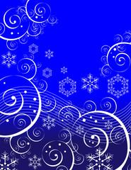 Swirls and Snowflakes