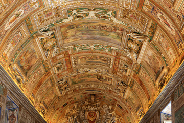 Vatican museum detail