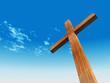High resolution christian cross
