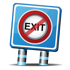 STOP EXIT ICON