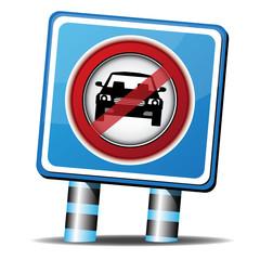 STOP CAR ICON