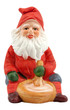 Vintage figurine of a nisse, Norwegian santa