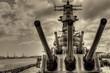 Leinwanddruck Bild - Battleship Missouri