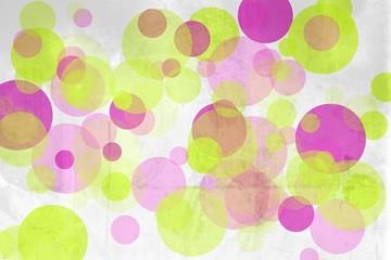 hintergrund wand alt kreise farbig I