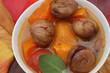 Soupe d'automne - Potiron Châtaignes