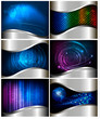 Big set of abstract technology and business backgrounds.