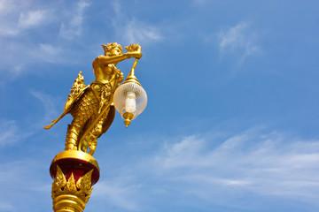 Kinnaree Thai art.