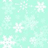 Decorative winter Christmas seamless texture