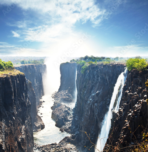Naklejka Victoria wodospad