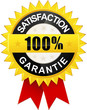 "Sticker ""Satisfaction 100% Garantie"""