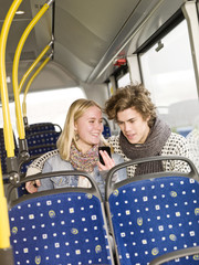 Couple on the bus