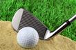 golf bunker play