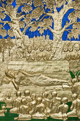 Buddha's death.
