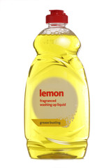 Lemon washing up liquid