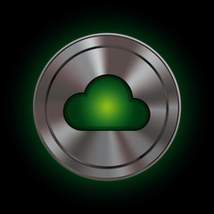 Polar Icon - cloud computing