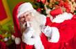 Santa sneaking in