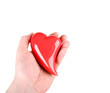 Herz in einer Hand / Herz Schenken