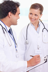 Medical assistants with patient record