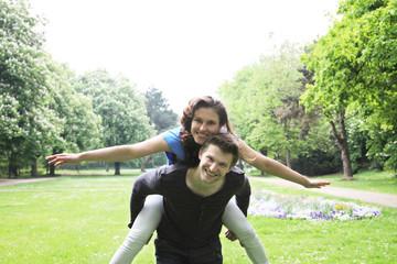 Paar im Glück