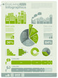architecture info graphics - charts, symbols, icons