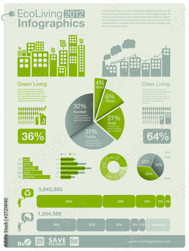 architecture info graphics - charts, symbols, icons