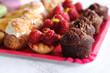desserts, petits gâteaux