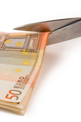 crisis of euro and cuts in public spending