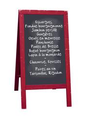 Ardoise restaurant (Bourgogne)