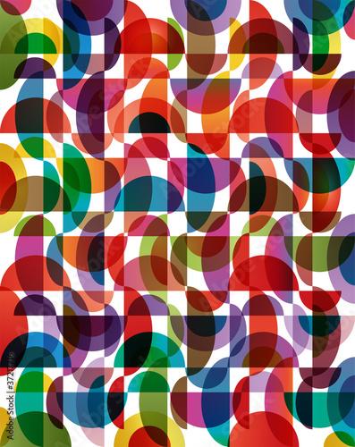 Fototapeta modern style colorful background