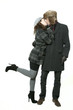 winter love couple 2875