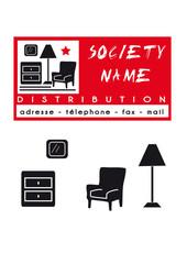 logo carte société meuble distribution mobilier