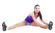 girl stretching