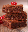 brownies and red currant
