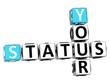 3D Your Status Crossword