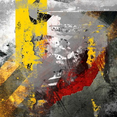 Abstract grunge composition, color background