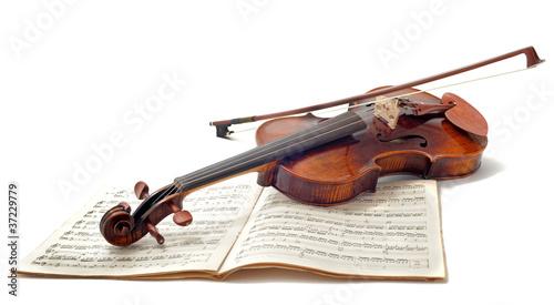violon et partitions