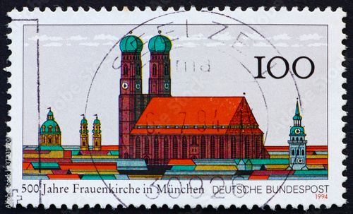 Postage stamp Germany 1994 Church of Our Lady, Frauenkirche