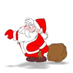Nikolaus / Weihnachtsmann / schenken 03
