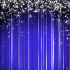 Xmas Hintergrund blau