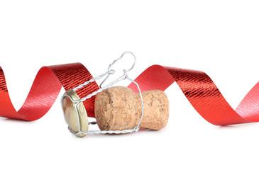 Cork of ribbon