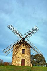 Moulin à vent en Bretagne