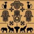 ethnic decorative pattern