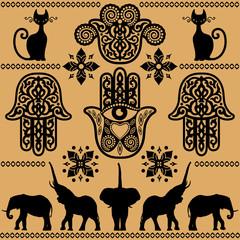 ethnic decorative pattern