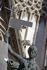 statua del Giraldillo nella cattedrale di siviglia